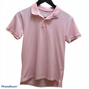 Children's Place boys' pink polo size 10/12